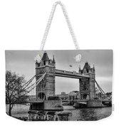 Spanning The Thames Weekender Tote Bag by Heather Applegate