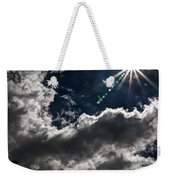 Sparkle From Above Weekender Tote Bag