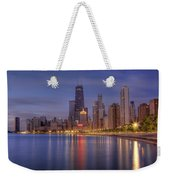 Sparkling Chicago  Weekender Tote Bag