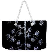 Sparkling Diamond Snowflakes Weekender Tote Bag