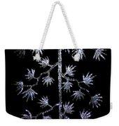 Sparkling Diamond Snowflakes Weekender Tote Bag