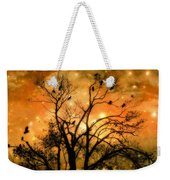 Sparkling Stars Light The Sky Weekender Tote Bag