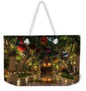Sparkling Merry Exuberant Decorations Weekender Tote Bag
