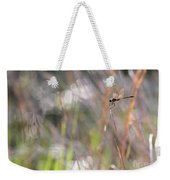 Sparkling Morning Sunshine With Dragonfly Weekender Tote Bag