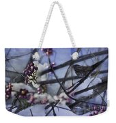 Sparrow And The Beauty Berry Weekender Tote Bag