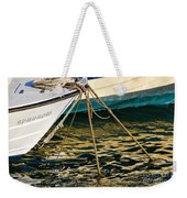 Sparrow At Lyme Regis Weekender Tote Bag