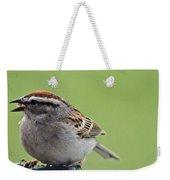 Sparrow Snack Weekender Tote Bag