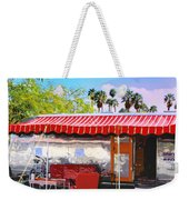 Spartan Manor Palm Springs Weekender Tote Bag