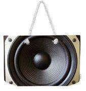 Speaker Weekender Tote Bag by Les Cunliffe