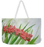 Spear Lily Weekender Tote Bag