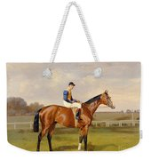 Spearmint Winner Of The 1906 Derby Weekender Tote Bag
