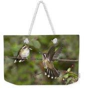Speckled Hummingbirds Weekender Tote Bag