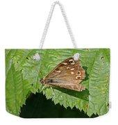 Speckled Wood Butterfly Weekender Tote Bag