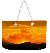 Spectacular Nevada Sunset  Weekender Tote Bag