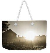 Spectacular Sepia Sunrise Weekender Tote Bag