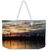 Spectacular Sky - Toronto Beaches Marina Weekender Tote Bag