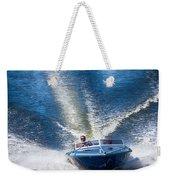 Speed On The Water Weekender Tote Bag