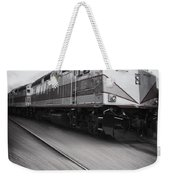 Speeding Along Weekender Tote Bag