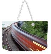 Speeding Train Weekender Tote Bag