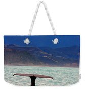 Sperm Whale Diving New Zealand Weekender Tote Bag