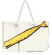 Sperm Whale Weathervane  Weekender Tote Bag