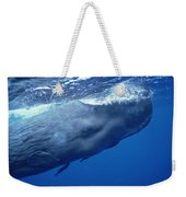 Sperm Whale With Remoras Dominica Weekender Tote Bag