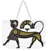 Sphinx - Mythical Creature Of Ancient Egypt Weekender Tote Bag