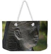 Sphinx Statue Head Grey Usa Weekender Tote Bag