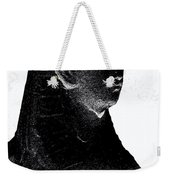 Sphinx Statue Torso Black And White Usa Weekender Tote Bag