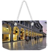 Spianada Square During Dusk Time Weekender Tote Bag