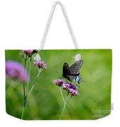 Spicebush Swallowtail Butterfly In Garden Weekender Tote Bag