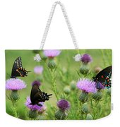 Spicebush Swallowtail Heaven Weekender Tote Bag