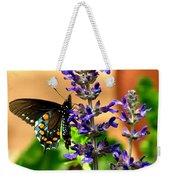 Spicebush Swallowtail Weekender Tote Bag
