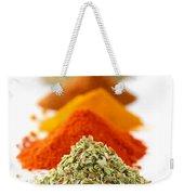 Spices Weekender Tote Bag