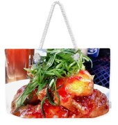 Spicy Sweet Chicken Weekender Tote Bag