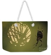 Spider And Sunlight Weekender Tote Bag