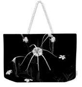 Spider Lily Weekender Tote Bag
