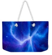 Spider Nebula Weekender Tote Bag by James Christopher Hill