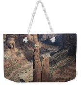 Spider Rock, Canyon De Chelly Weekender Tote Bag