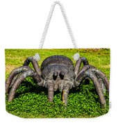 Spider Sculpture Weekender Tote Bag