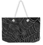 Spider Web Weekender Tote Bag