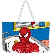 Spiderman  Weekender Tote Bag by Mark Ashkenazi