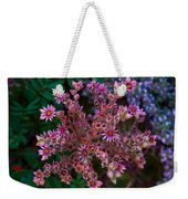 Spiky Flowers Weekender Tote Bag