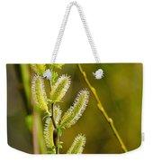 Spiky Green Plant Weekender Tote Bag