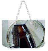 Spilled Balsamic Vinegar Weekender Tote Bag
