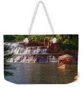 Spilling Over Waterfall Weekender Tote Bag