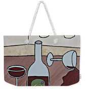 Essence Of Home - Spilt Wine Weekender Tote Bag