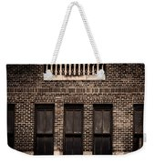 Spindles And Bricks Weekender Tote Bag