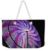 Spinning Disk Weekender Tote Bag by Joan Carroll
