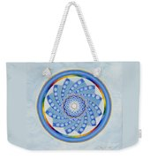 Spinning Flower Weekender Tote Bag